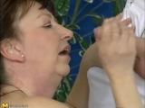 Coroa faz sexo com o massagista e o leva a loucura